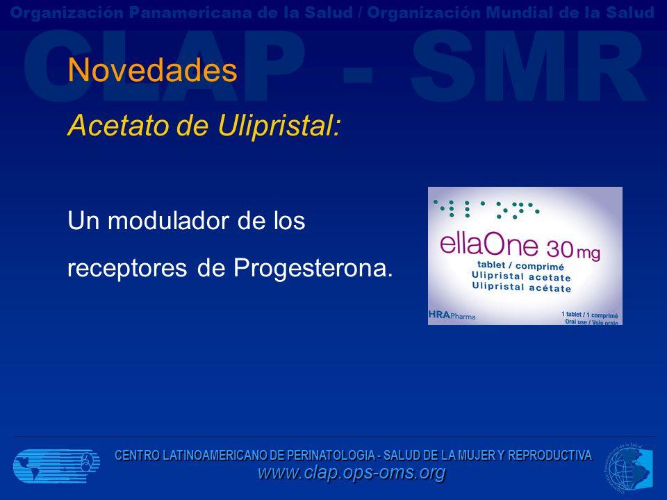Novedades Acetato de Ulipristal: Un modulador de los