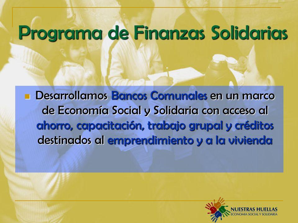 Programa de Finanzas Solidarias