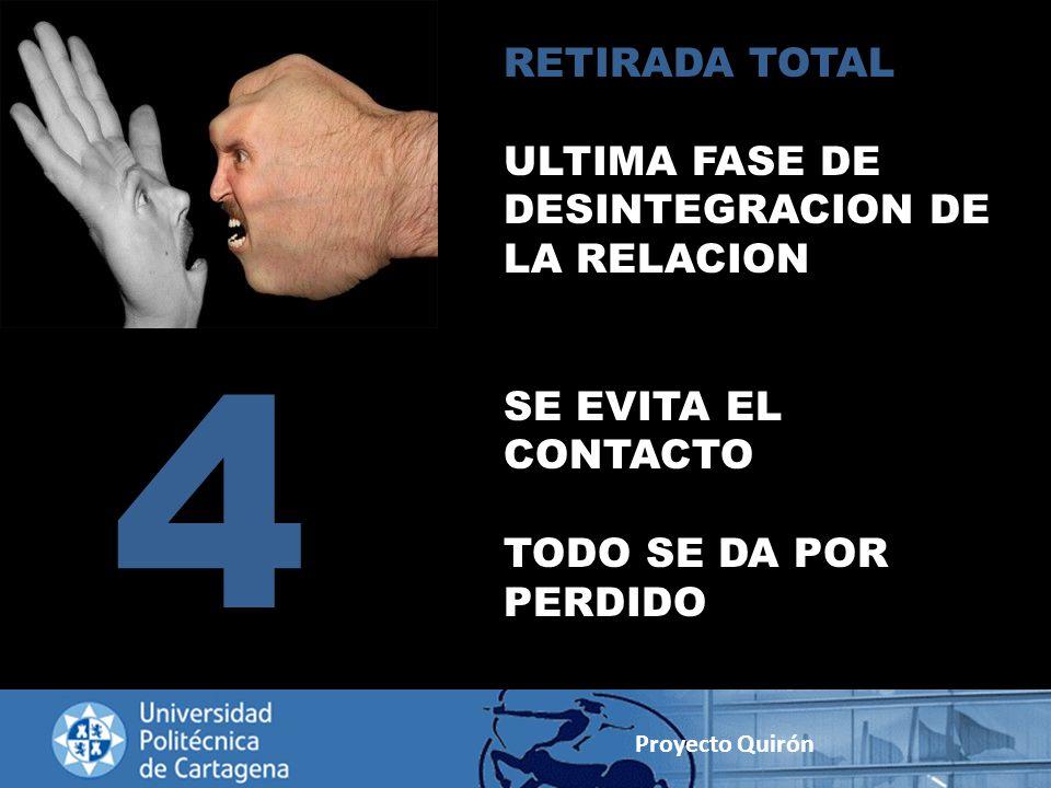 4 RETIRADA TOTAL ULTIMA FASE DE DESINTEGRACION DE LA RELACION
