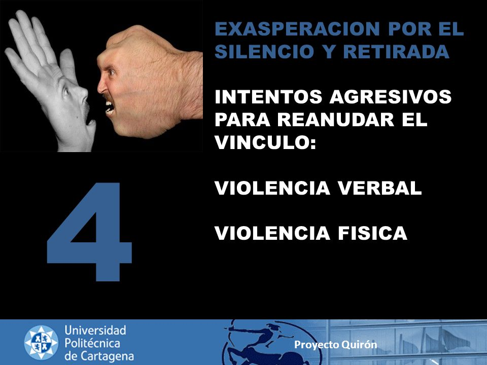4 EXASPERACION POR EL SILENCIO Y RETIRADA