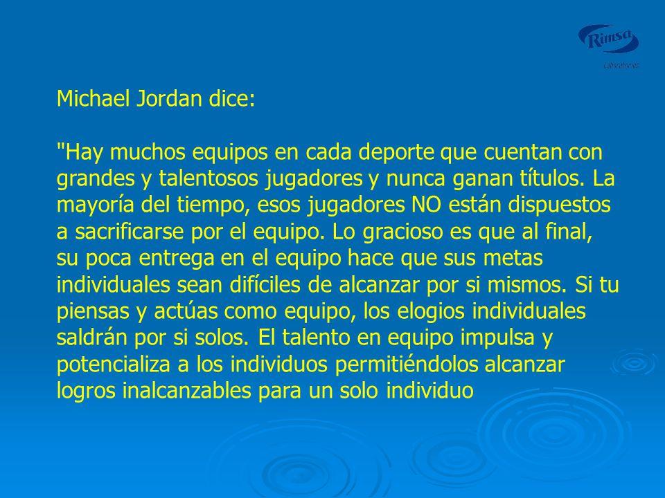Michael Jordan dice: