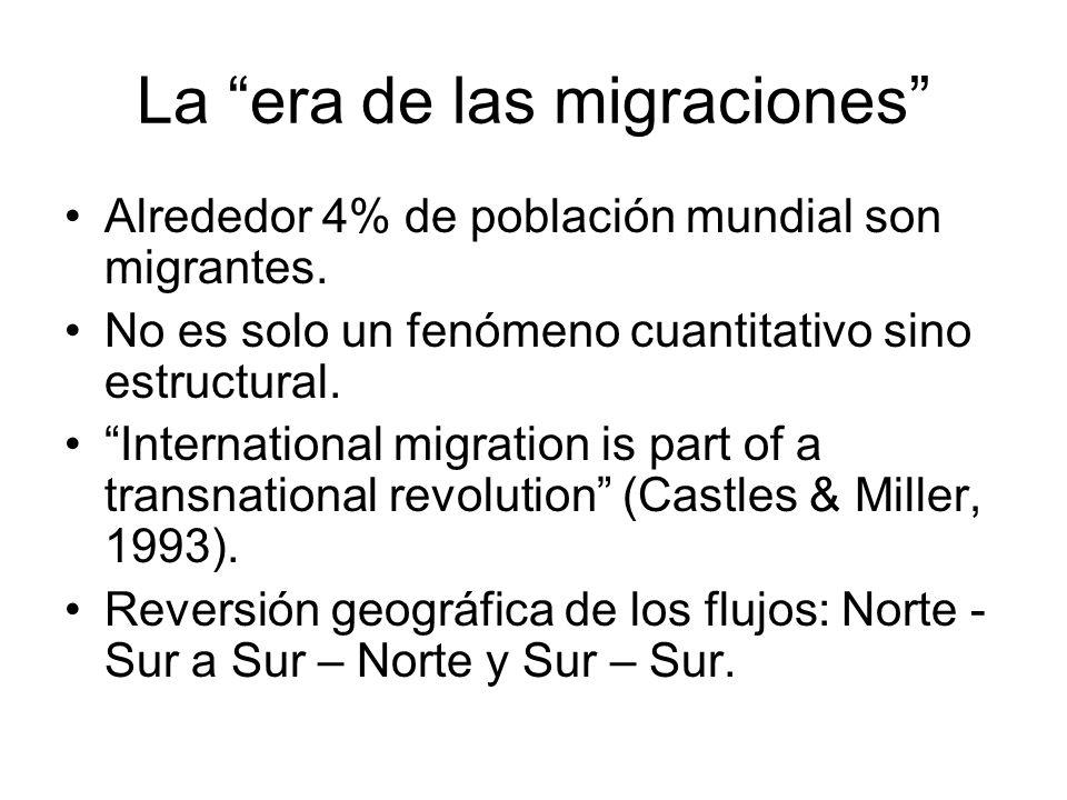 La era de las migraciones