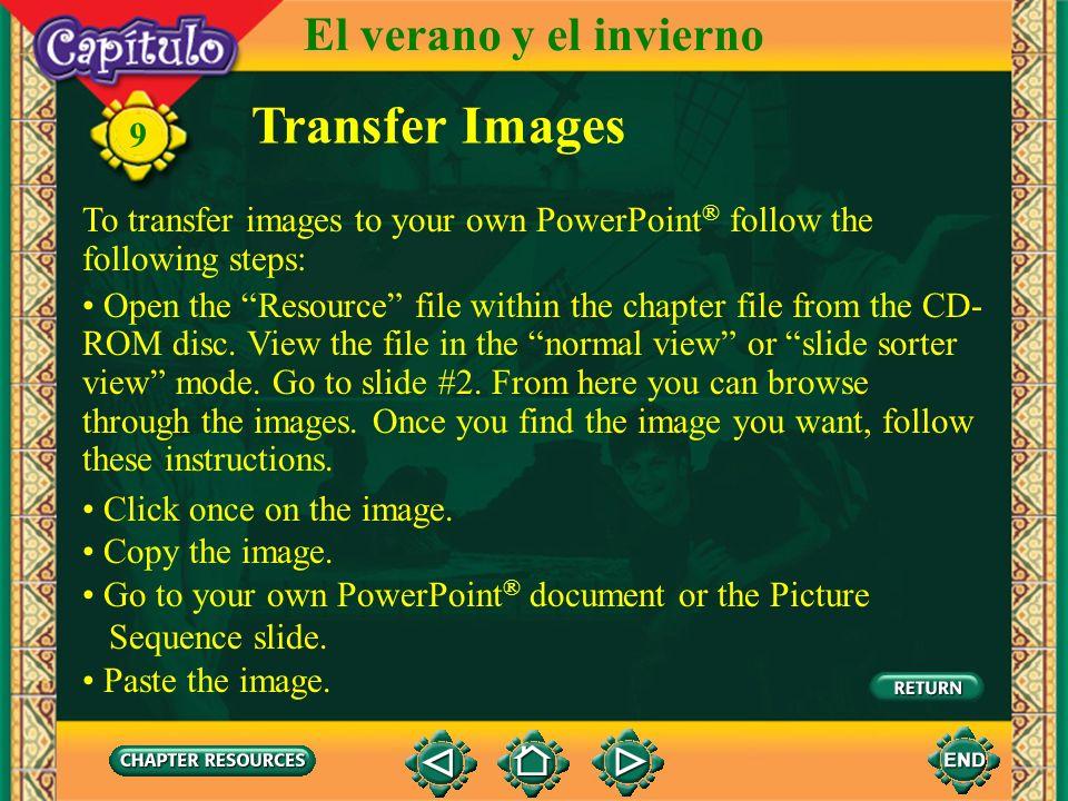 Transfer Images El verano y el invierno 9