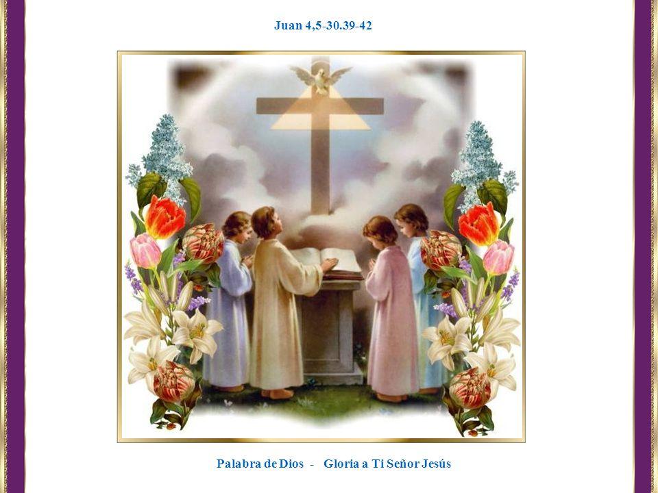 Palabra de Dios - Gloria a Ti Señor Jesús