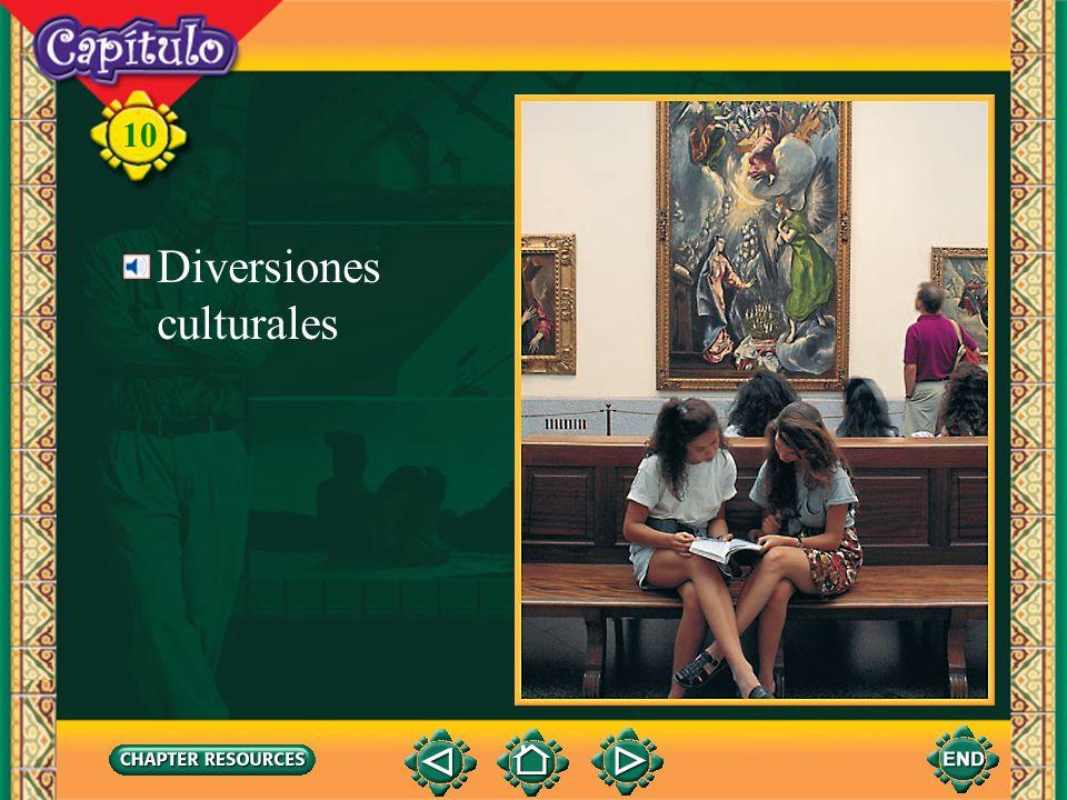 10 Diversiones culturales
