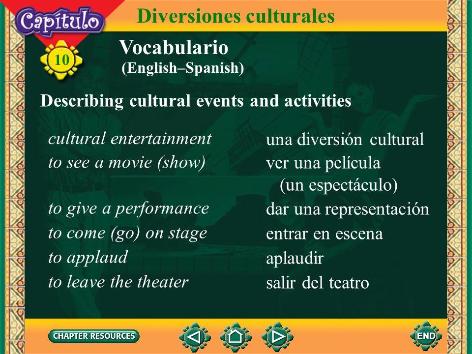 Diversiones culturales
