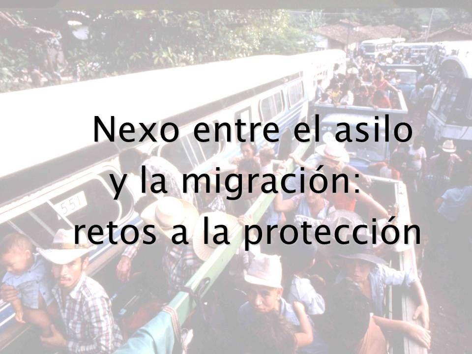 Nexo entre el asilo y la migración: retos a la protección