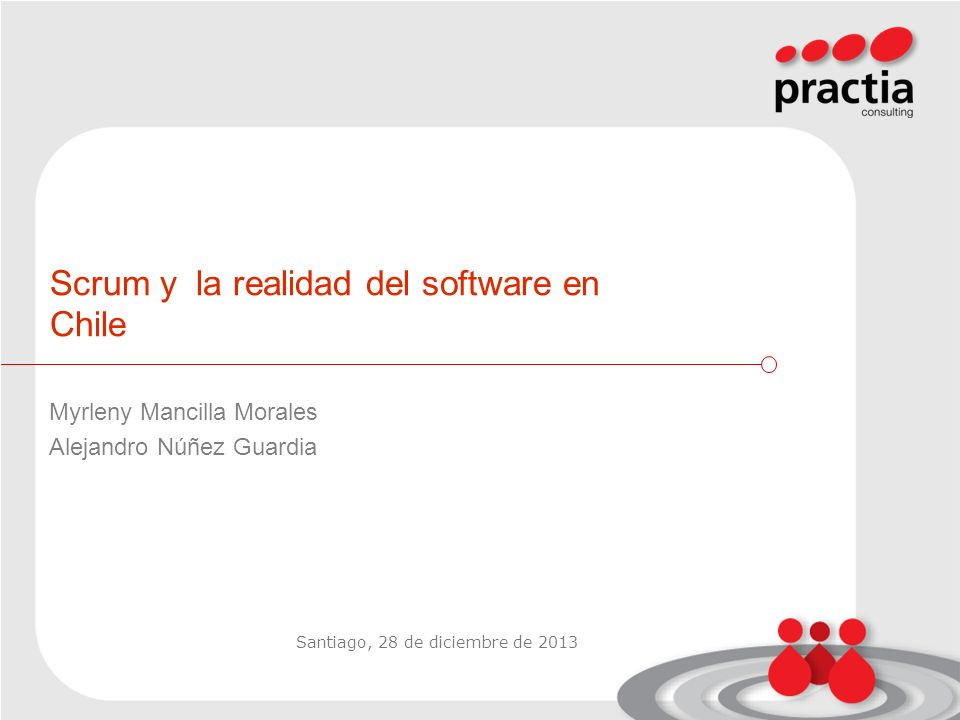 Scrum y la realidad del software en Chile