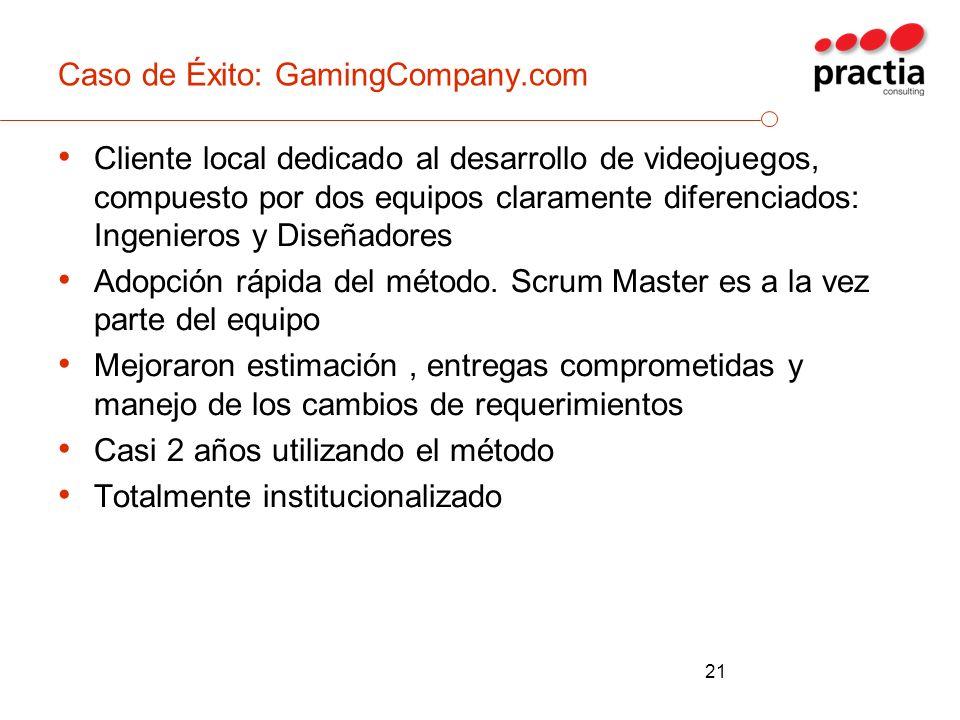 Caso de Éxito: GamingCompany.com