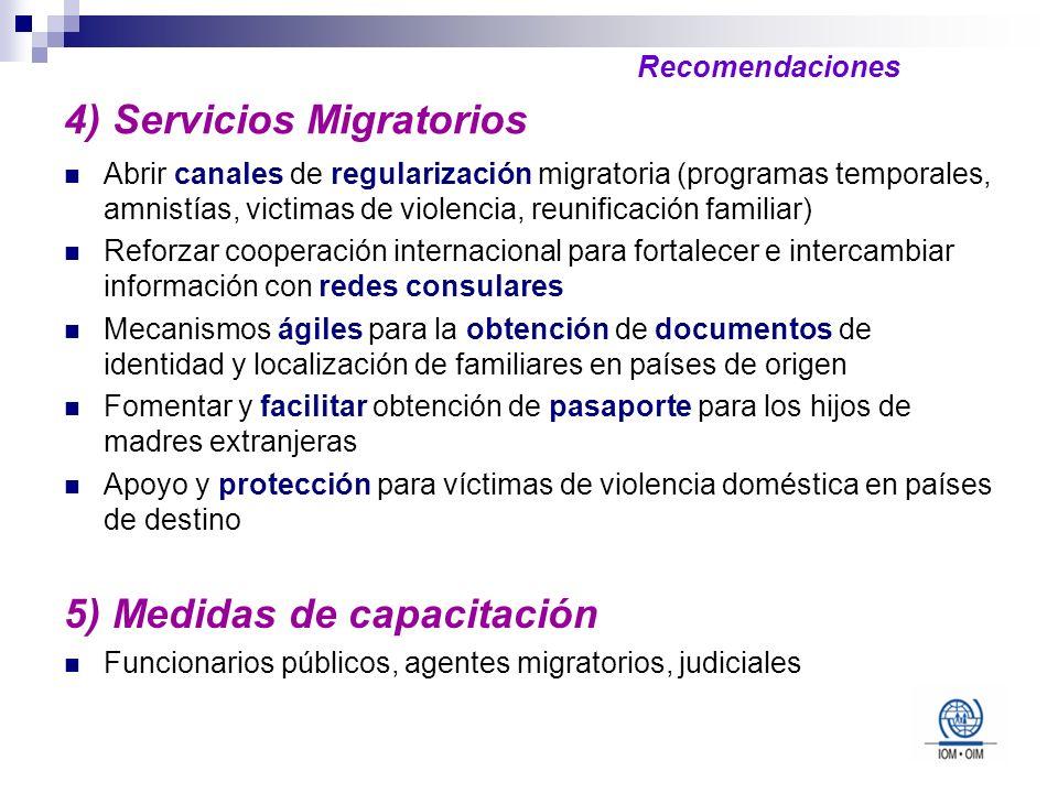 4) Servicios Migratorios