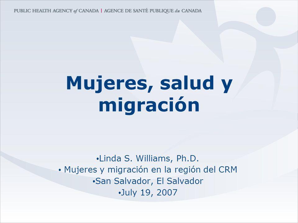 Mujeres, salud y migración