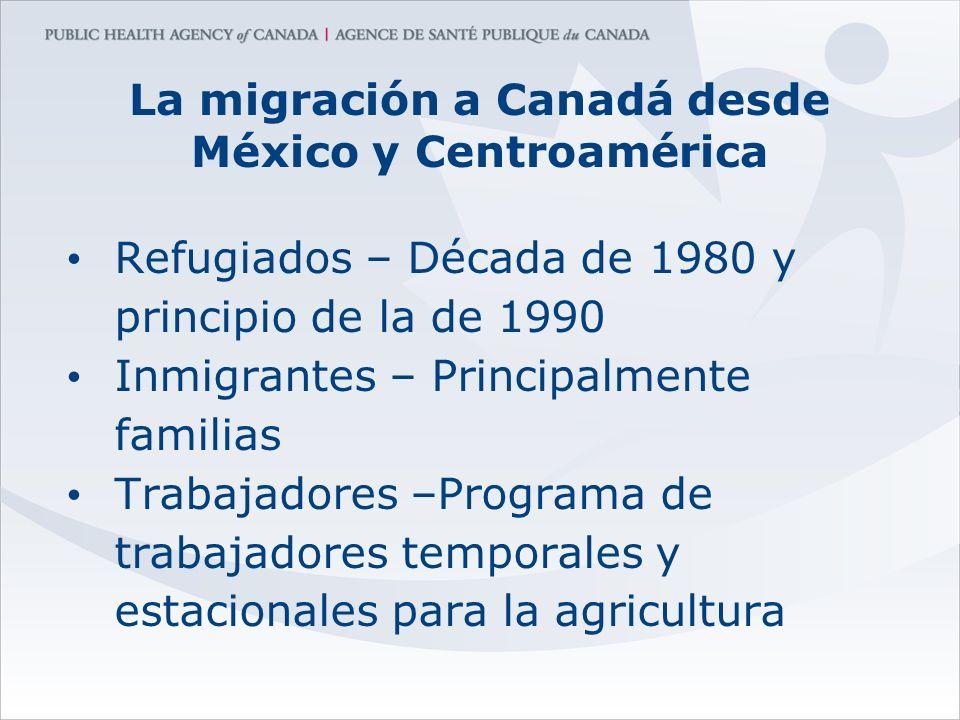 La migración a Canadá desde México y Centroamérica
