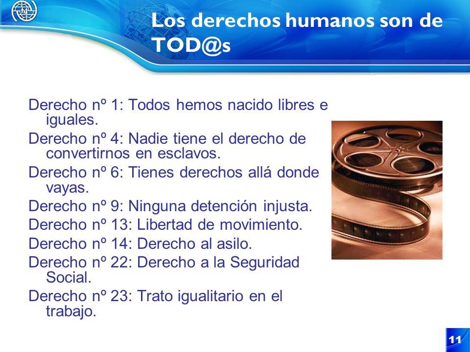 Los derechos humanos son de TOD@s