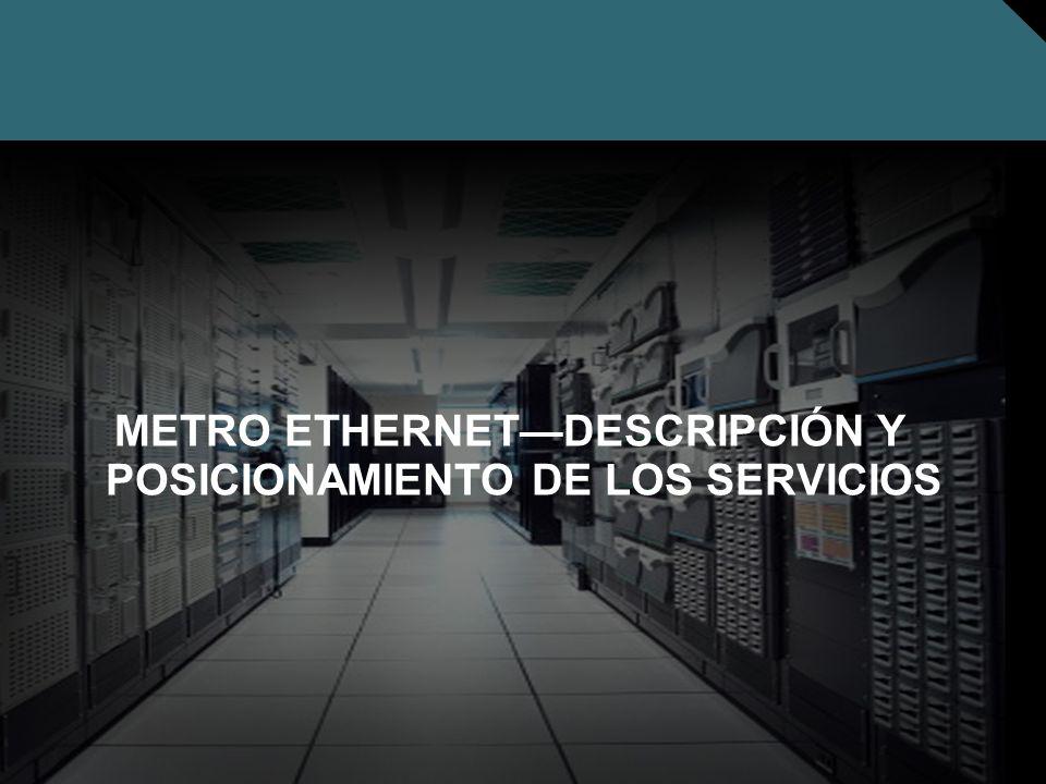 METRO ETHERNET—DESCRIPCIÓN Y POSICIONAMIENTO DE LOS SERVICIOS