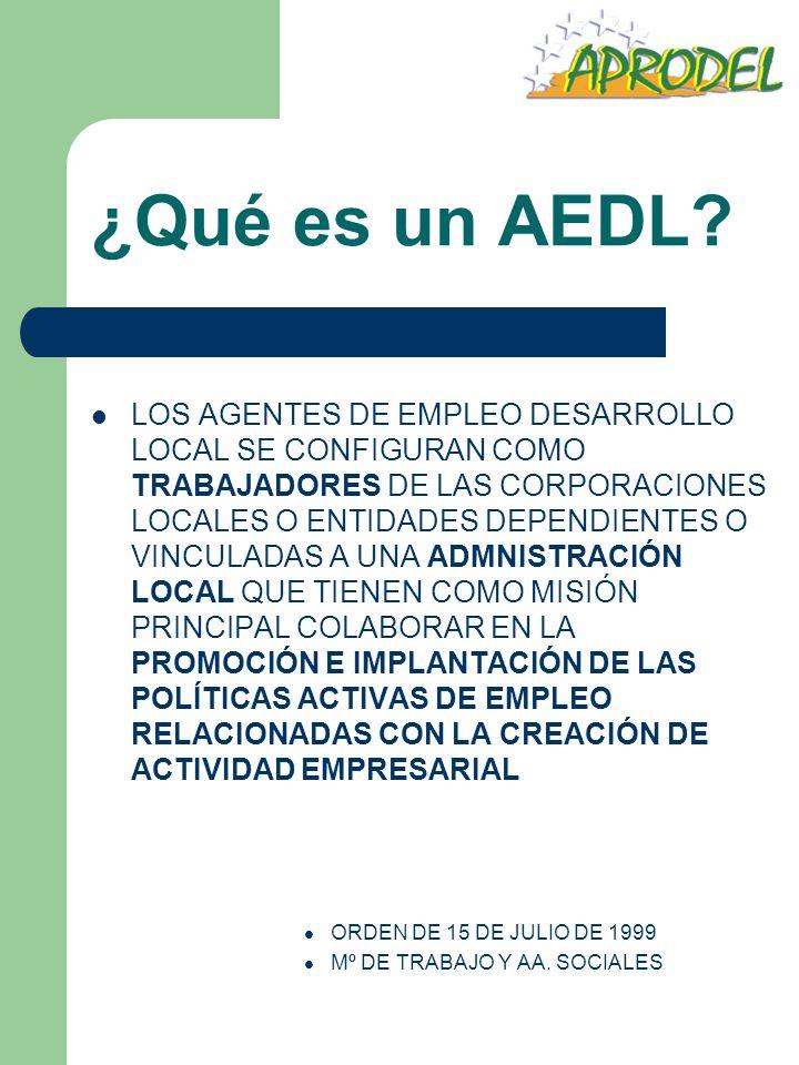 ¿Qué es un AEDL