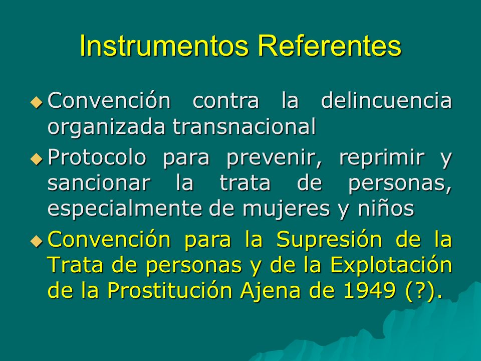 Instrumentos Referentes