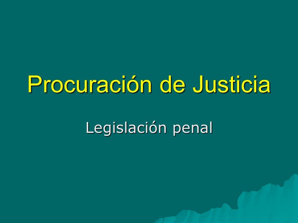 Procuración de Justicia