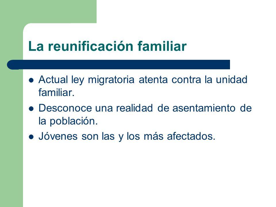 La reunificación familiar