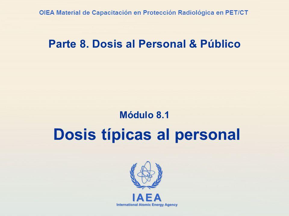 Parte 8. Dosis al Personal & Público