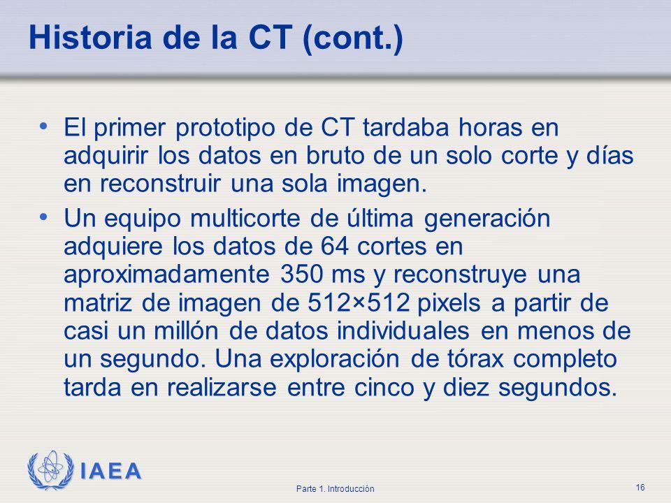 Historia de la CT (cont.)