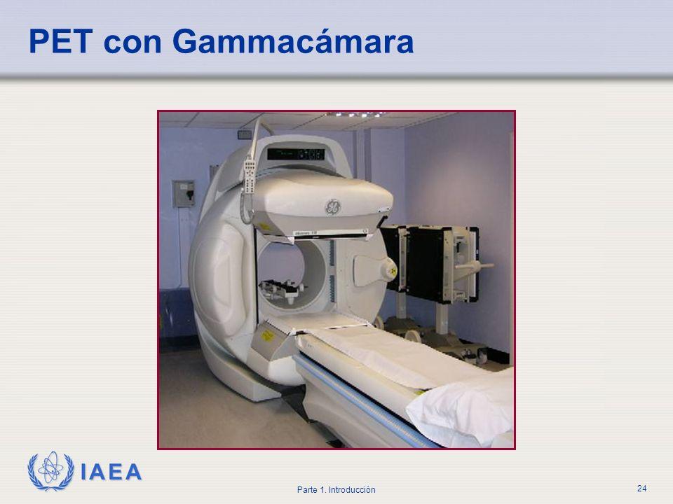 PET con Gammacámara El PET con cámaras gamma se conoce también como SPECT de coincidencia