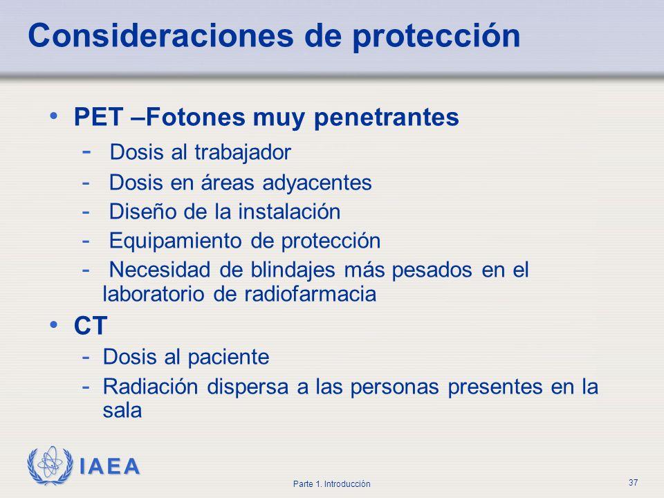 Consideraciones de protección
