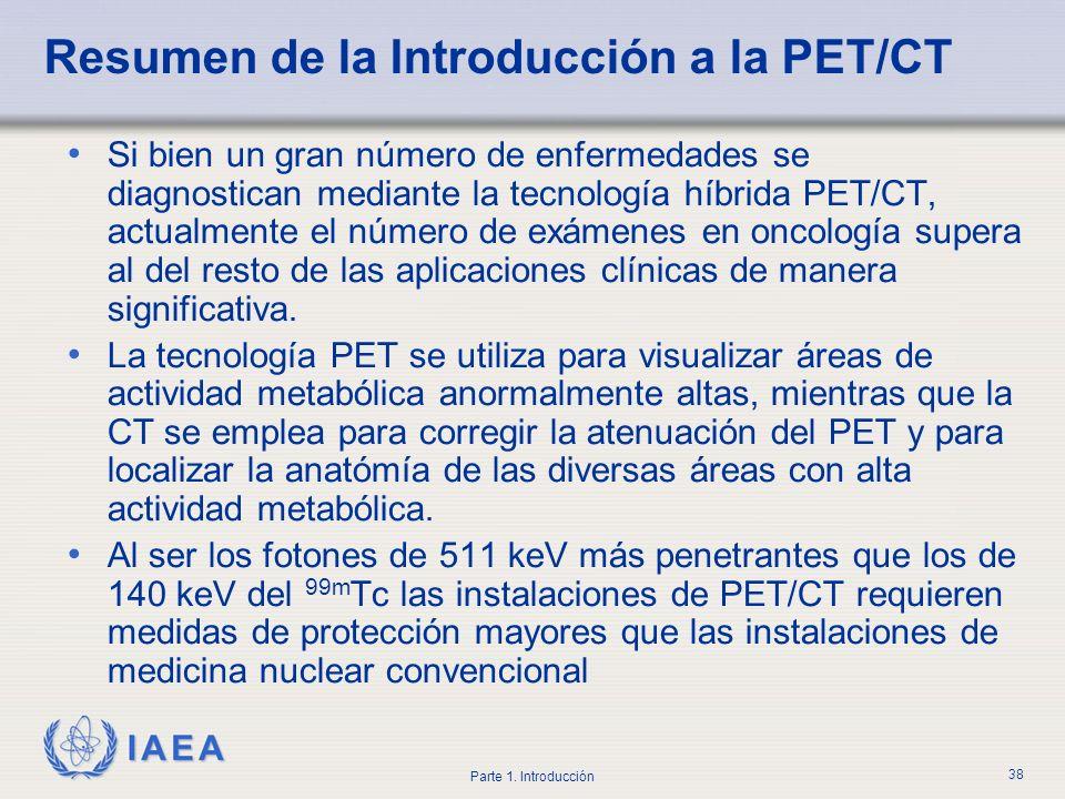 Resumen de la Introducción a la PET/CT