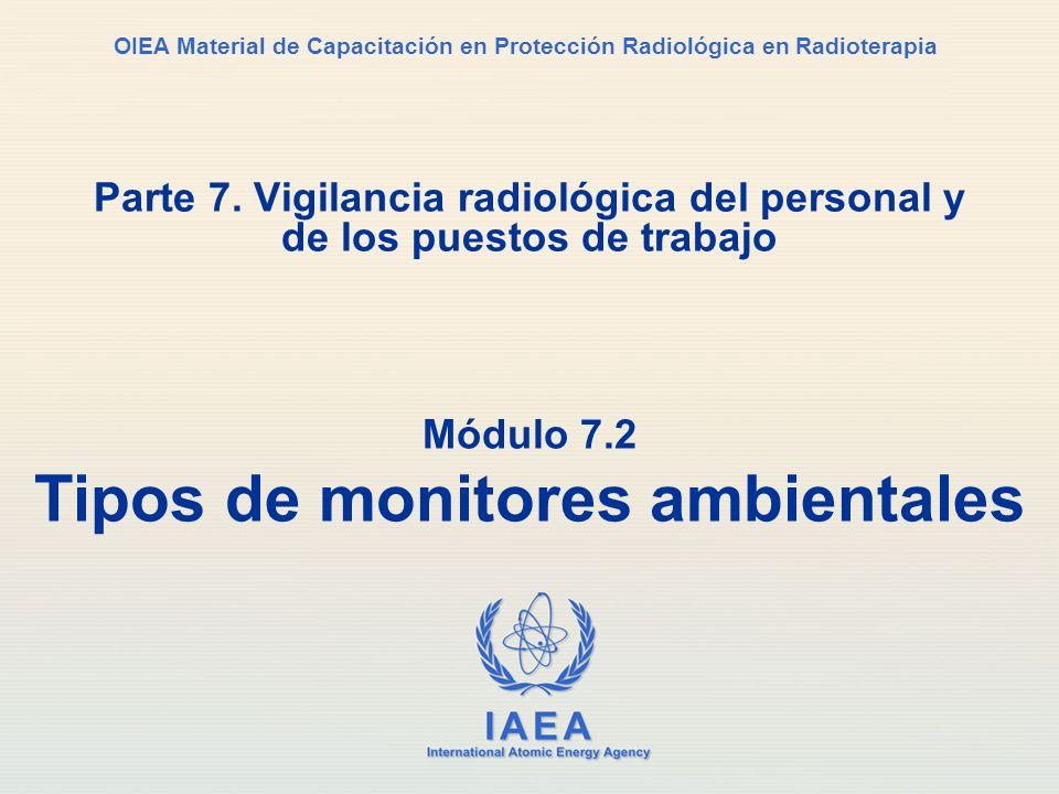 Módulo 7.2 Tipos de monitores ambientales