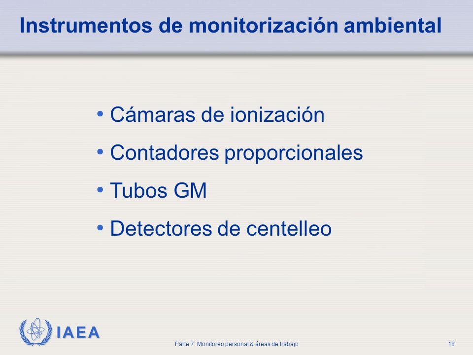 Instrumentos de monitorización ambiental