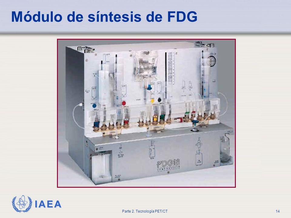 Módulo de síntesis de FDG
