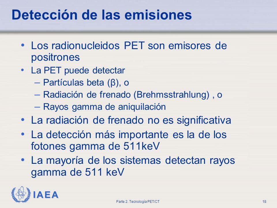 Detección de las emisiones