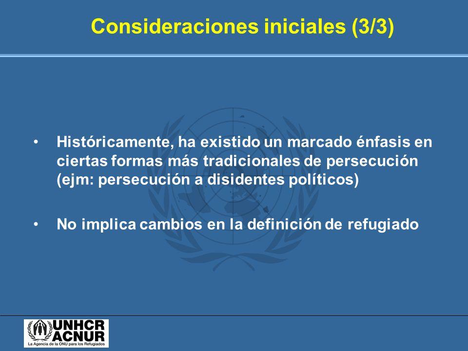 Consideraciones iniciales (3/3)