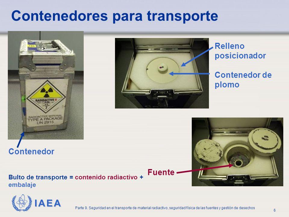 Contenedores para transporte