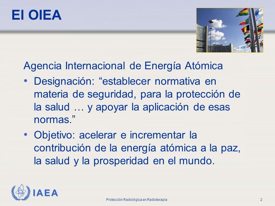 El OIEA Agencia Internacional de Energía Atómica