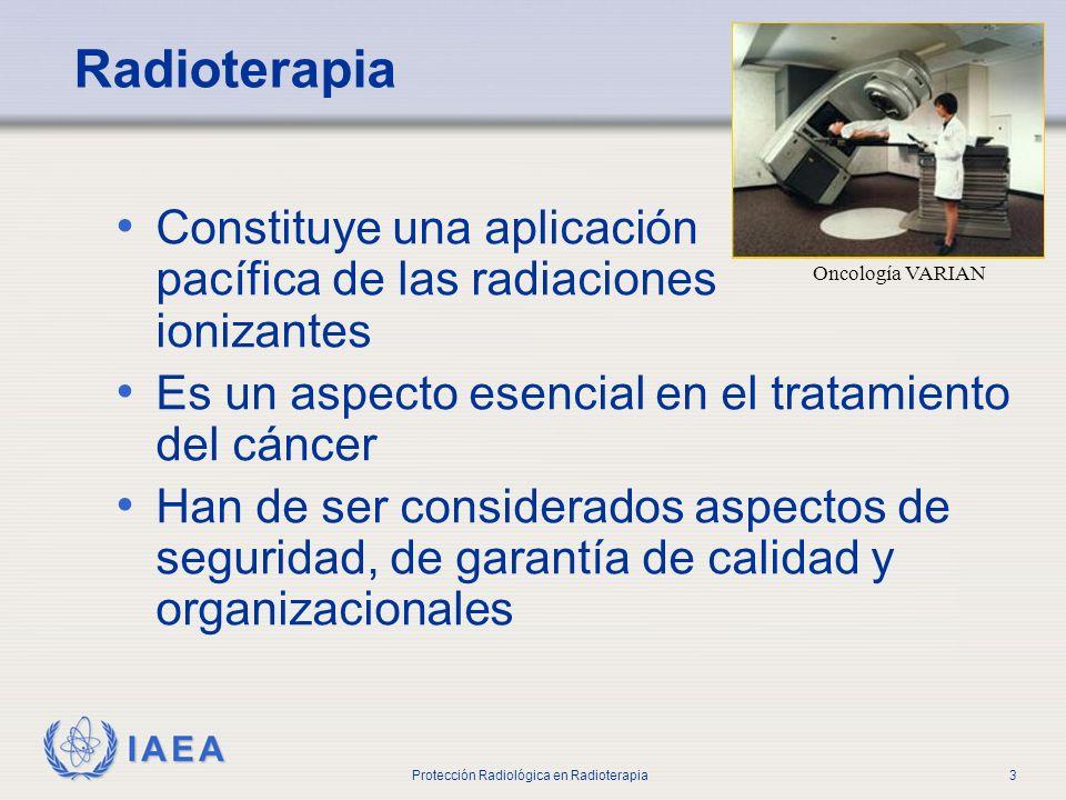 Parte No 0 Introducción. Radioterapia. Oncología VARIAN. Constituye una aplicación pacífica de las radiaciones ionizantes.