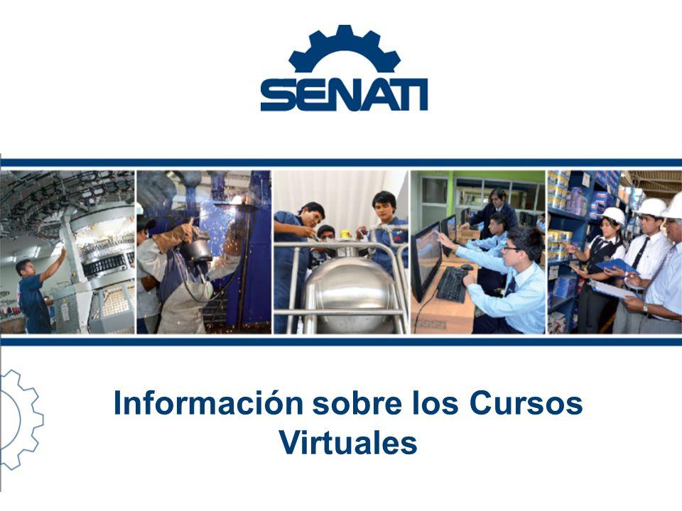 Información sobre los Cursos Virtuales