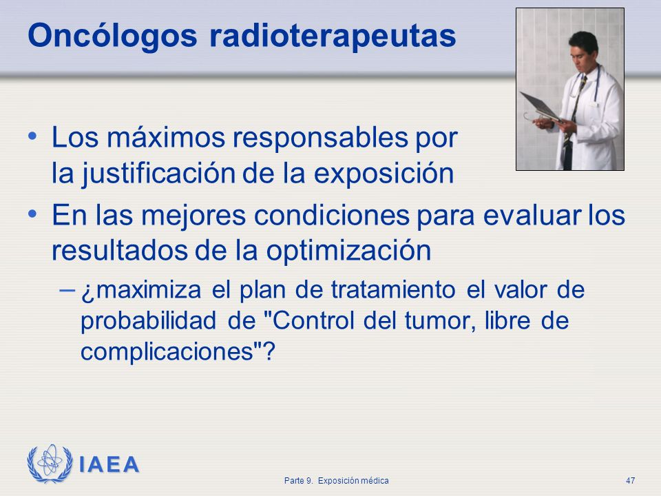 Oncólogos radioterapeutas