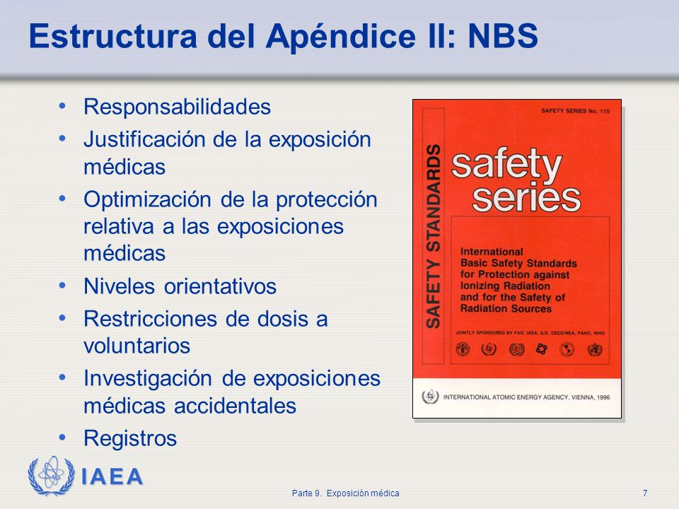 Estructura del Apéndice II: NBS