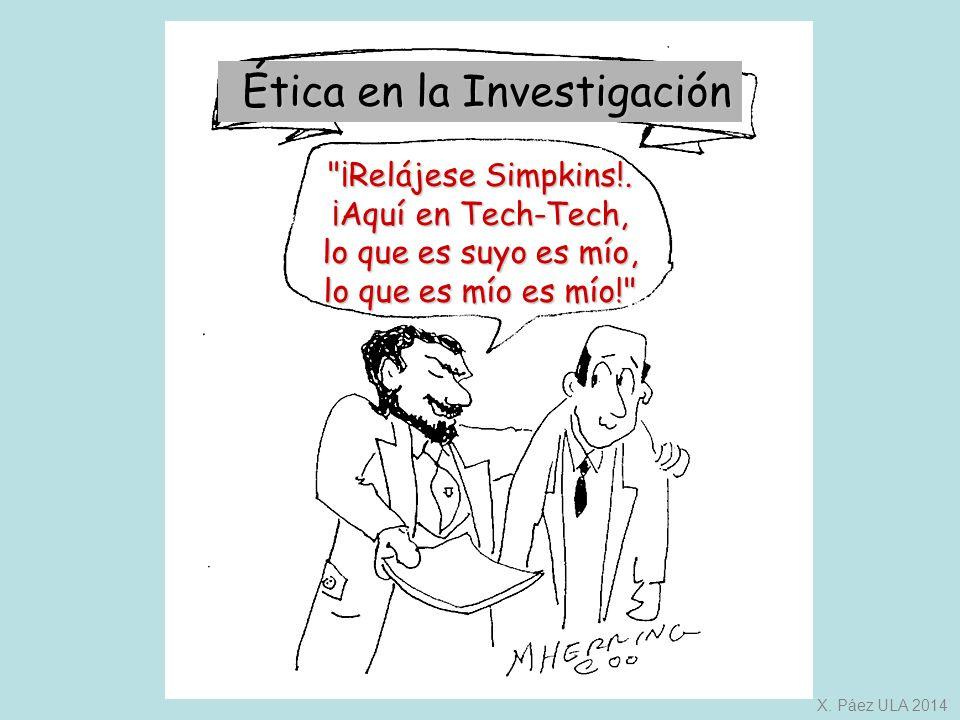Ética en la Investigación