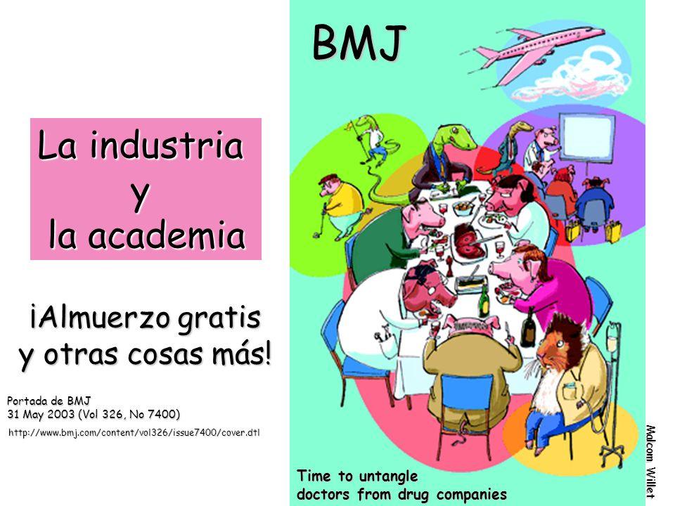 BMJ La industria y la academia ¡Almuerzo gratis y otras cosas más!