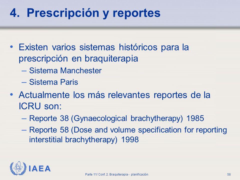 4. Prescripción y reportes