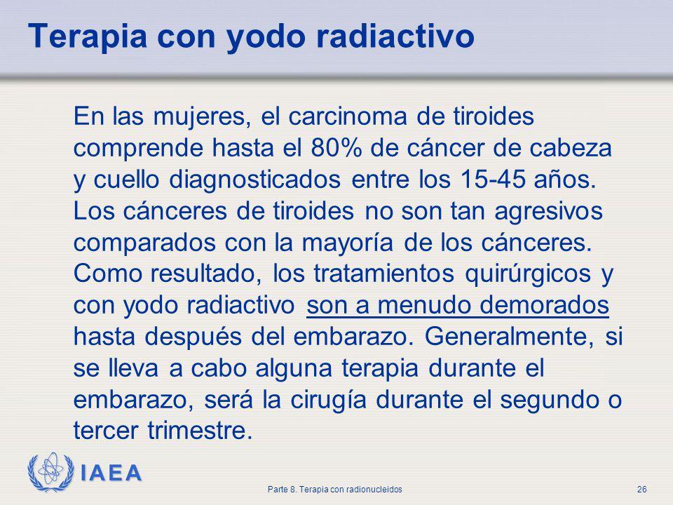 Terapia con yodo radiactivo