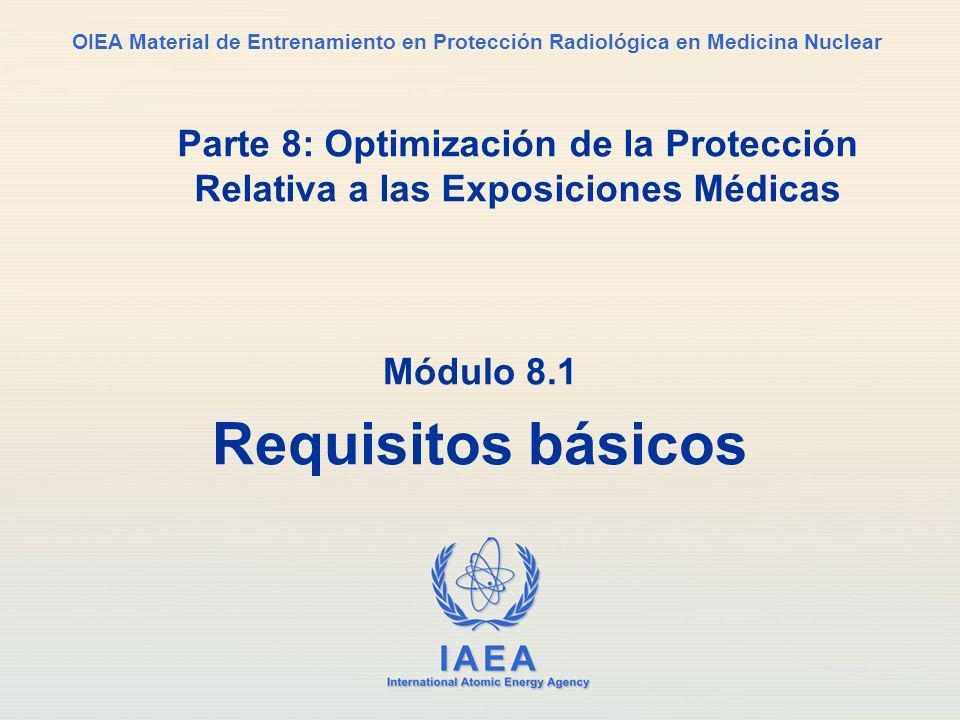 Módulo 8.1 Requisitos básicos