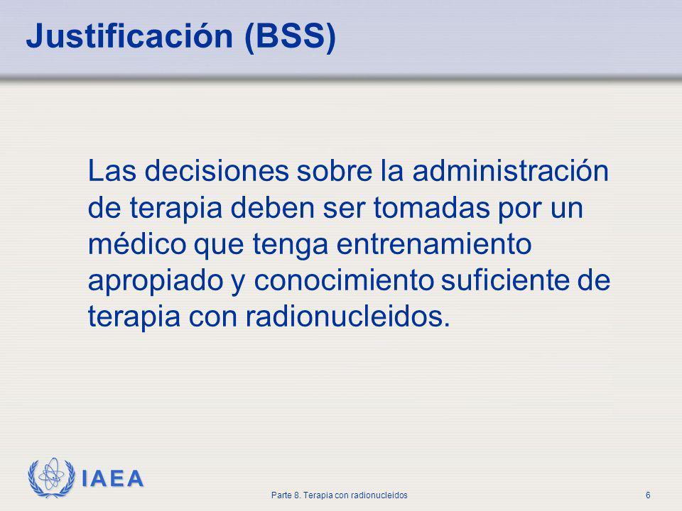 Justificación (BSS)