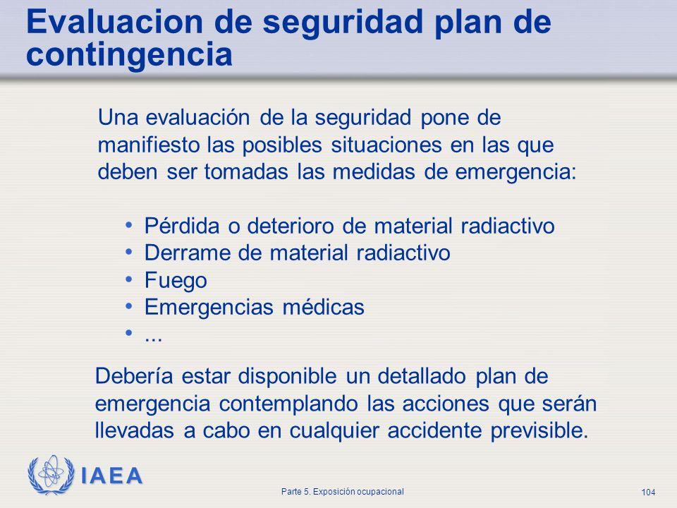Evaluacion de seguridad plan de contingencia