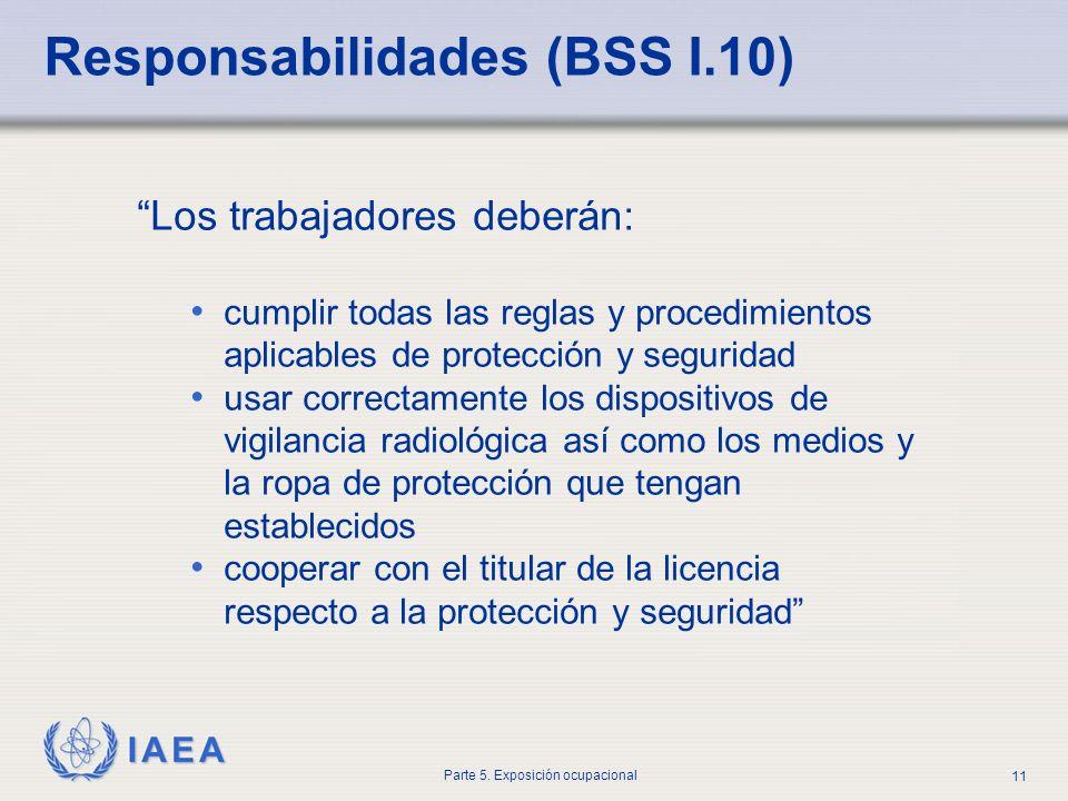 Responsabilidades (BSS I.10)