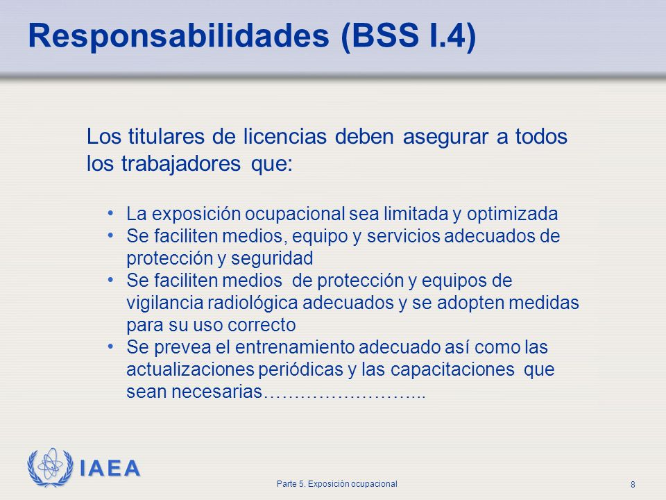 Responsabilidades (BSS I.4)