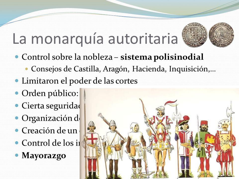 La monarquía autoritaria