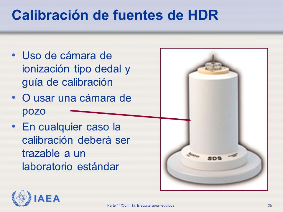 Calibración de fuentes de HDR