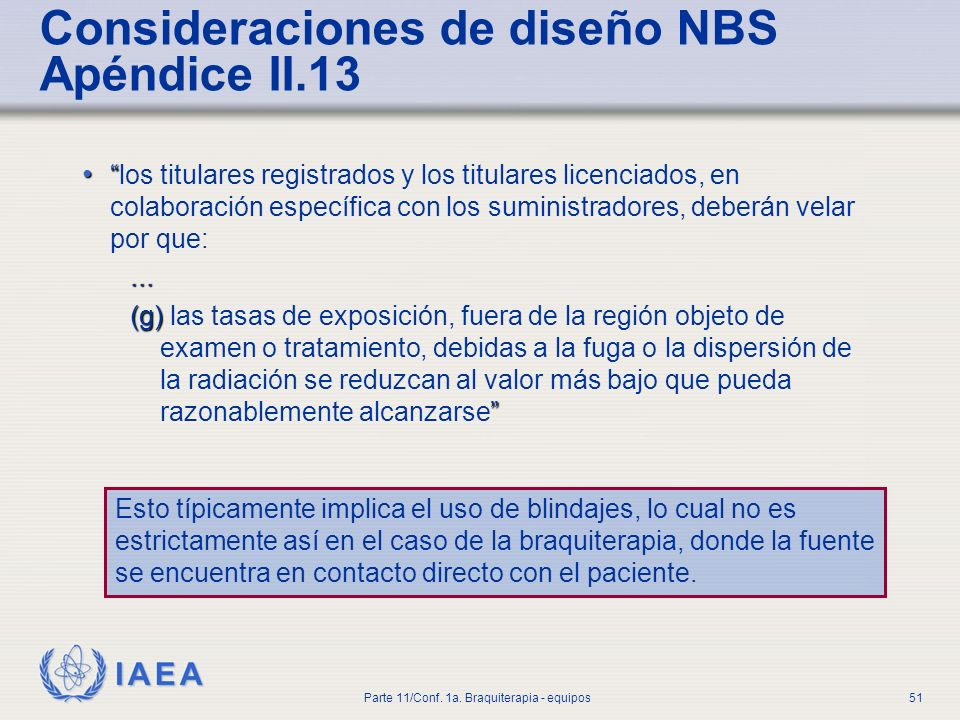 Consideraciones de diseño NBS Apéndice II.13